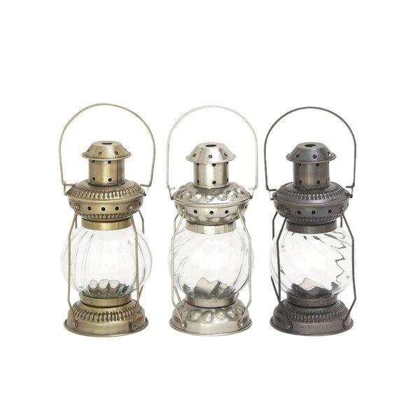 Metal Lantern (Set of 3) by Cole & Grey
