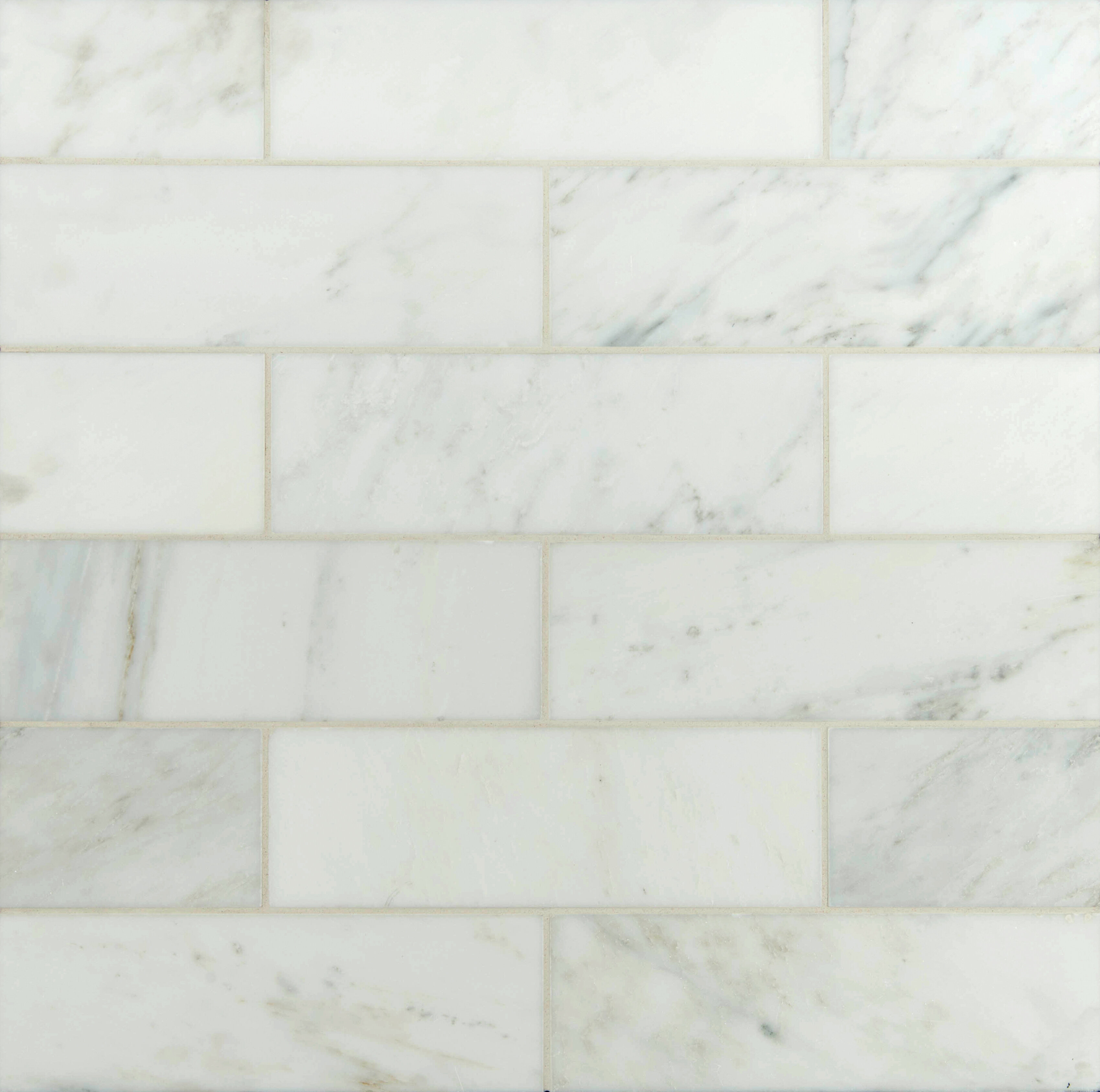 Msi 4 X 12 Polished Marble Tile In Carrara White Reviews Wayfair