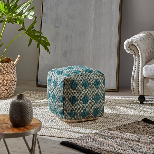 Belew Boho Pouf by Bungalow Rose