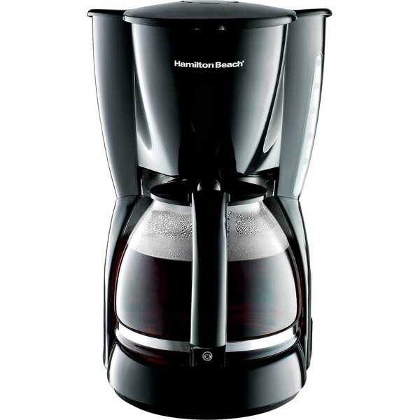 12 Cup Drip Coffee Maker by Hamilton Beach