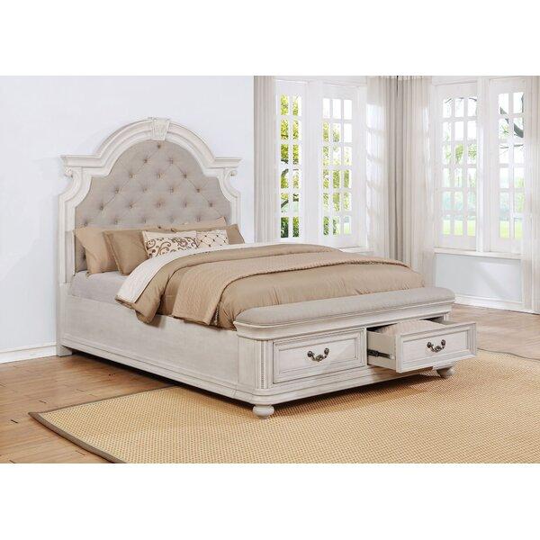 Alisa Upholstered Storage Standard Panel Bed by One Allium Way One Allium Way