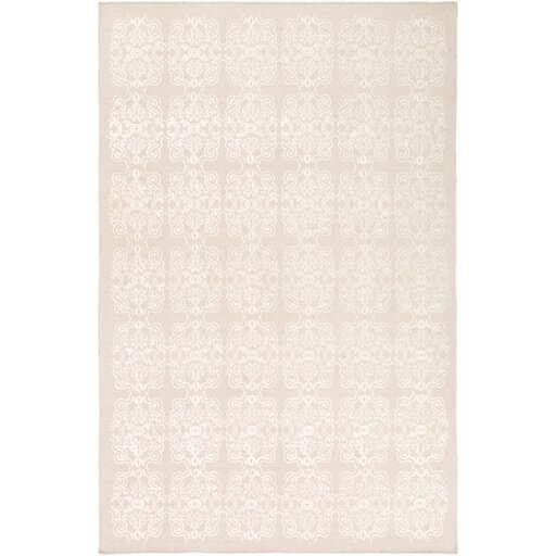Adeline Beige/Ivory Area Rug by One Allium Way