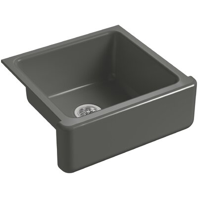 Bowl Sink Under Mount Single Tall Thunder Grey 240 Product Photo