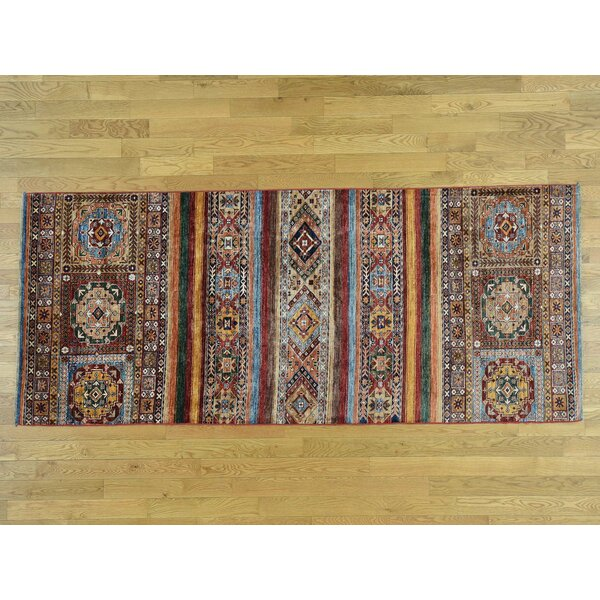 One-of-a-Kind Bechtold Khorjin Design Handwoven Wool Area Rug by Isabelline