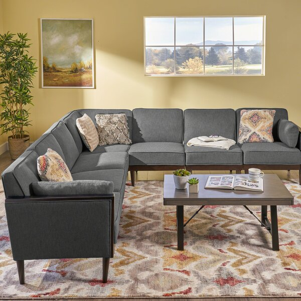 Marconi Mid-Century Modern Modular Sectional By George Oliver