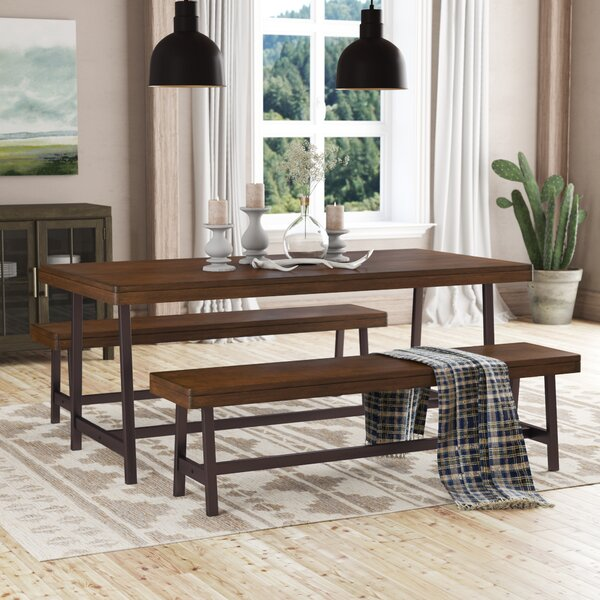 Huntington 3 Piece Dining Set by Loon Peak