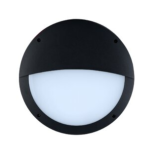 Affordable Letourneau LED Outdoor Flush Mount By Latitude Run