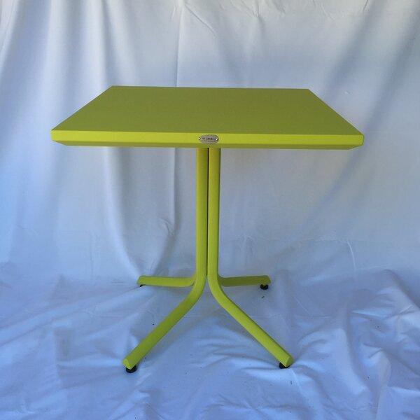 Hybrid 77 Metal Bistro Table by Les Jardins