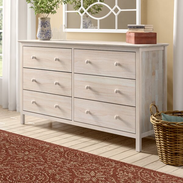 Dufrene 6 Drawer Double Dresser By Highland Dunes by Highland Dunes 2020 Sale