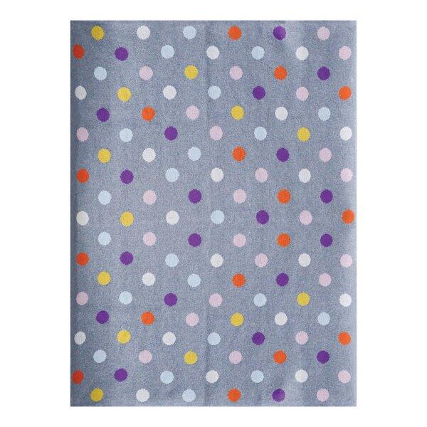 Elizabeth Street Dots Cotton Blanket by Harriet Bee