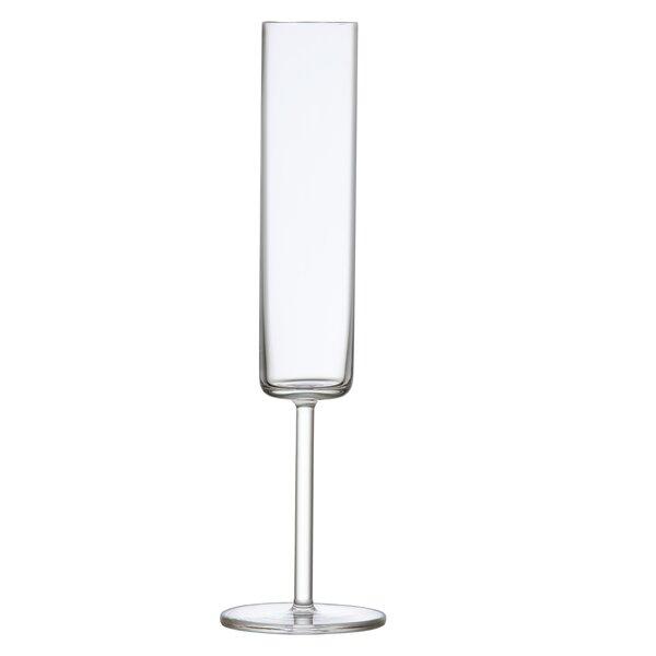 Modo Lead Free Crystal 6 Oz Champagne Flute Set Of 4 By Schott Zwiesel.