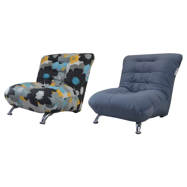 Review Tecoma Slipper Chair (Set Of 2)