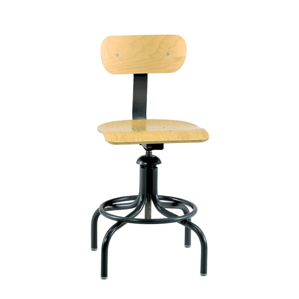 Low-Back Drafting Chair by BEVCO