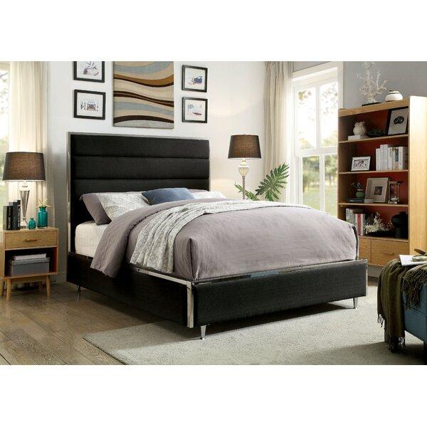 Rosa Upholstered Standard Bed by Brayden Studio