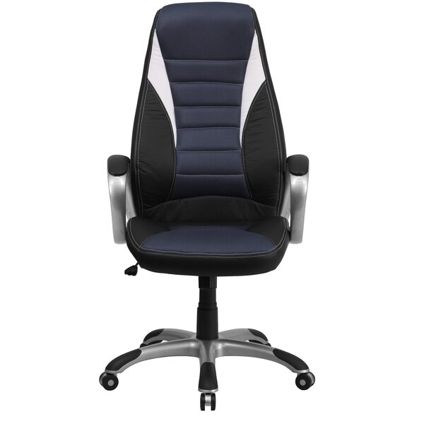 Wolters High-Back Executive Chair by Symple Stuff