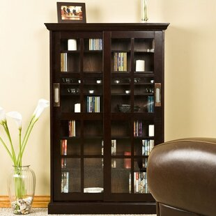 Espresso Windowpane Media Cabinet by Wildon Home