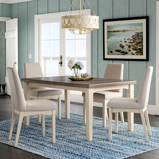 Kinsey 5 Piece Removable Leaf Dining Set By Rosecliff Heights