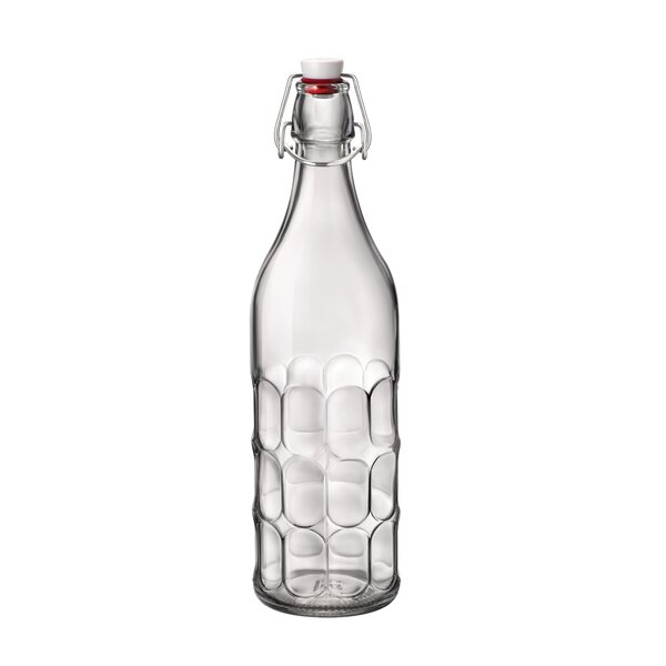 Moresca Glass Swing 33.75 oz. Bottle (Set of 6) by Bormioli Rocco