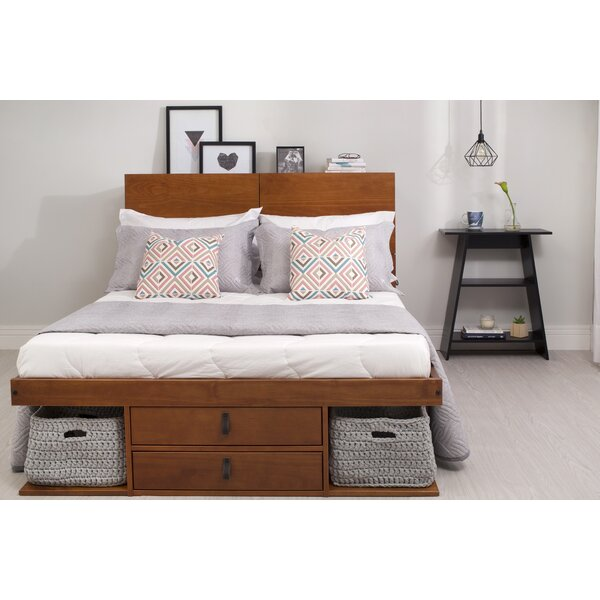 Pharr Storage Platform Bed by Latitude Run