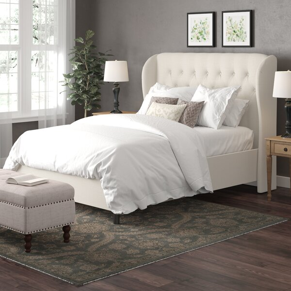 Elsa Upholstered Standard Bed by Wayfair Custom Upholstery™