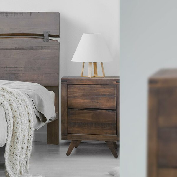 Conant 2 Drawer Nightstand by Foundry Select