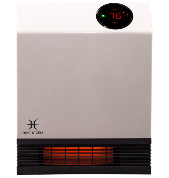 Deluxe 3,100 BTU Electric Infrared Baseboard Heater by Heat Storm