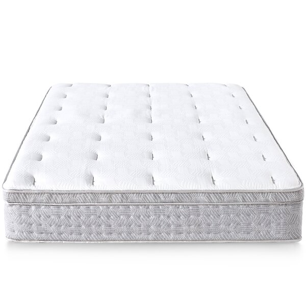 Potomac Italian 12 inch Medium Hybrid Mattress by Alwyn Home