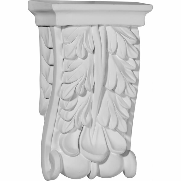 Oxford 5 1/8H x 3 1/8W x 1 1/2D Oak Leaf Corbel by Ekena Millwork