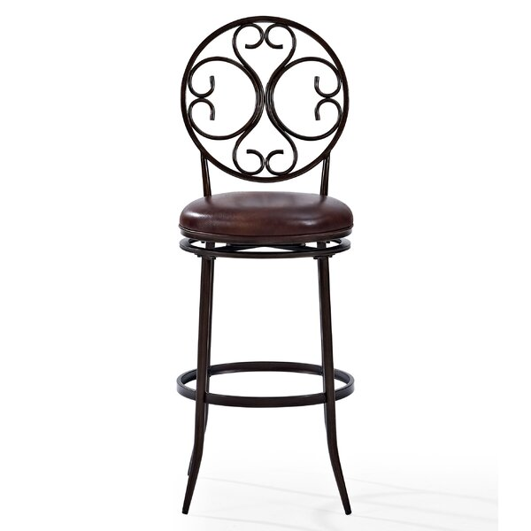 Irma Bar & Counter Swivel Stool by Alcott Hill Alcott Hill