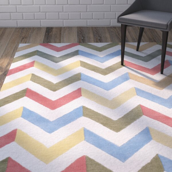 Martins Chevron Area Rug by Wrought Studio