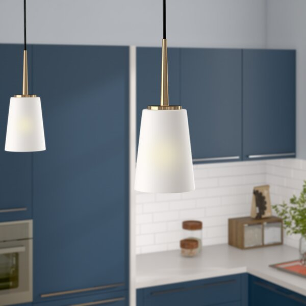 Ganador 1-Light Cone Pendant by Langley Street
