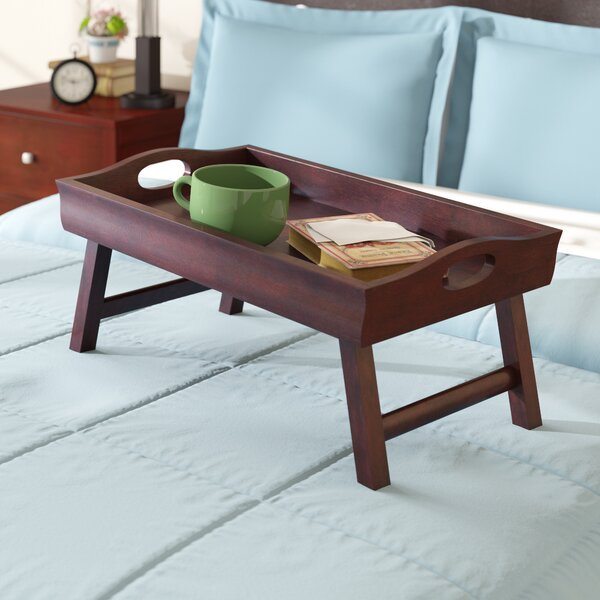 Dufton Bed Tray with Foldable Legs by Andover Mills