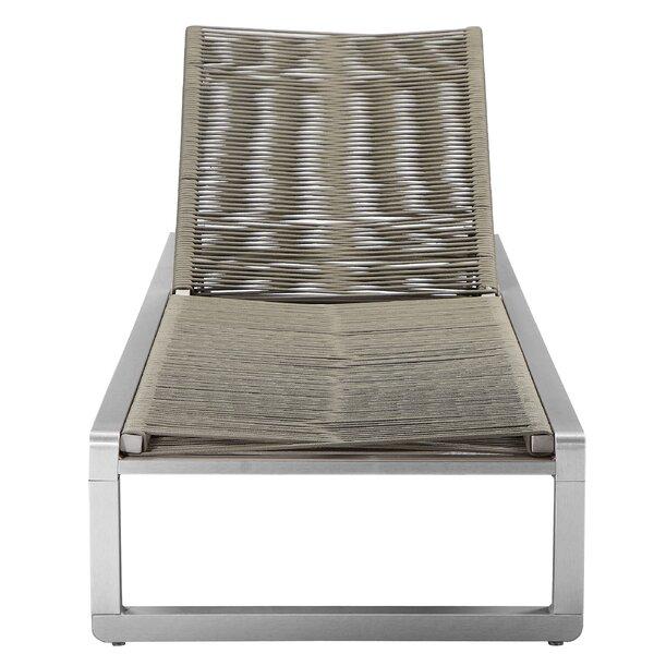 Bella Reclining Chaise Lounge by Orren Ellis Orren Ellis