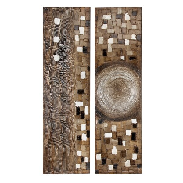 Toscana 2 Piece Graphic Art on Canvas Set by Cole & Grey