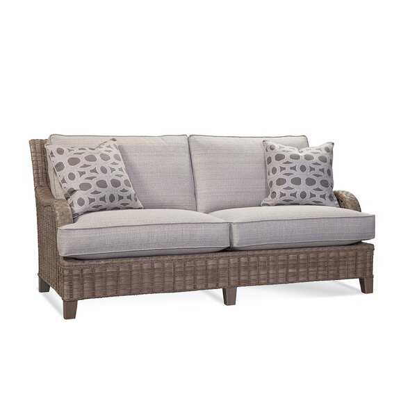 Lake Geneva Patio Sofa with Cushions by Braxton Culler