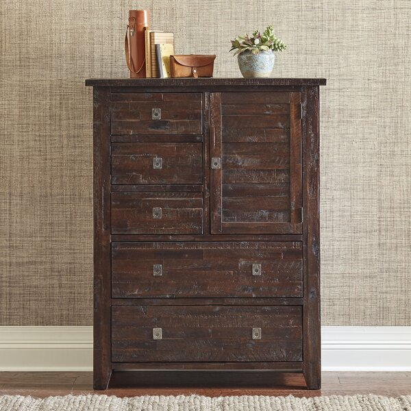 Cadwallader 5 Drawer Gentlemans Chest by Darby Home Co