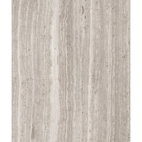 36 x 6 Marble Tile in Polished Oyster Gray by Seven Seas