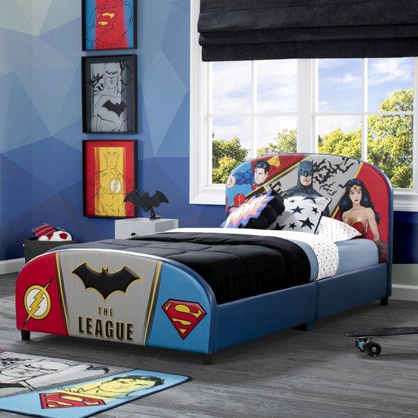 DC Comics Justice League Twin Platform Bed by Delta Children