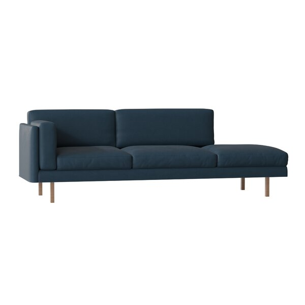 Skinny Fat Sofa with Bumper by BenchMade Modern