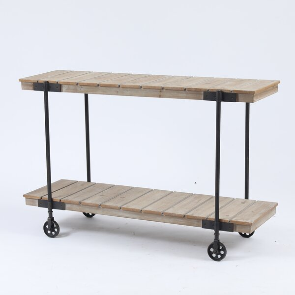 Henman Shelf Bar Cart By Gracie Oaks