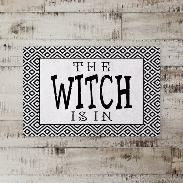 Stanek the Witch is in Kitchen Mat