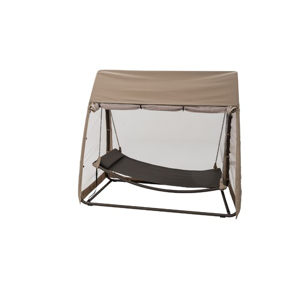 Hanging Polyester Hammock with Stand by TrueShade™ Plus