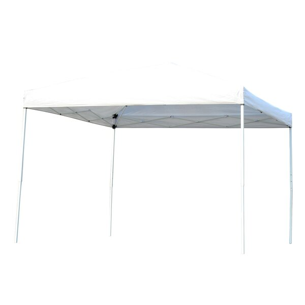 10 Ft. W x 10 Ft. D Steel Pop-Up Canopy by Outsunn