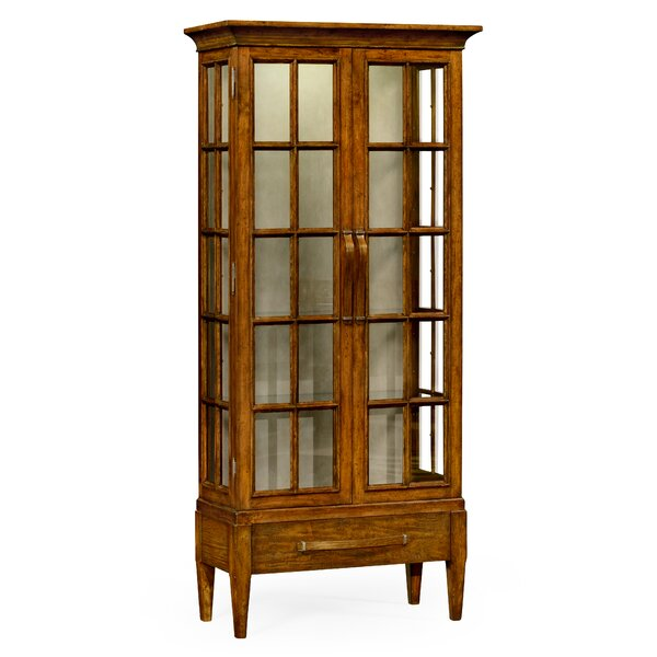 Tall Curio Cabinet by Jonathan Charles Fine Furniture