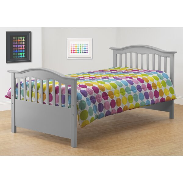 Twin Slat Bed by Orbelle Trading
