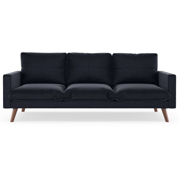 Couture Mod Velvet Sofa by Corrigan Studio