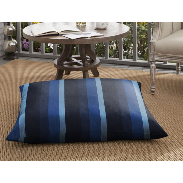 Malia Indoor/Outdoor Floor Pillow by Breakwater Bay