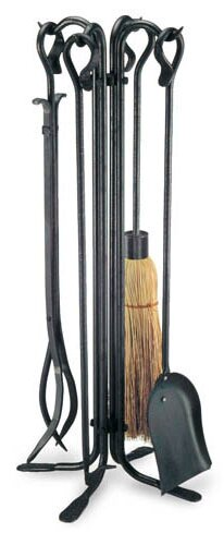 Vintage 5 Piece Fireplace Tool Set by Pilgrim Hearth