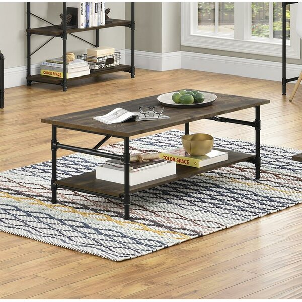 Dodd Coffee Table With Storage By Williston Forge