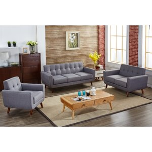 Magic 3 Piece Living Room Set by Langley Street